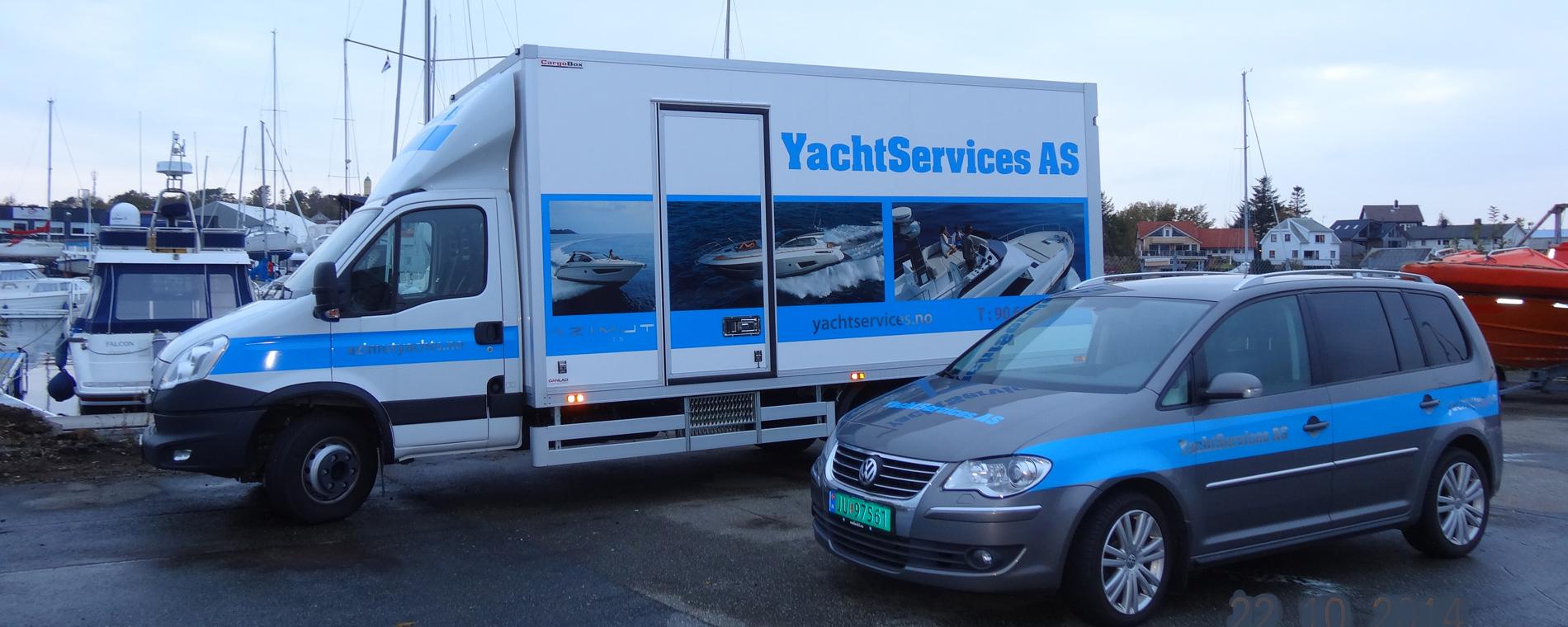 Servicebiler YachtServices