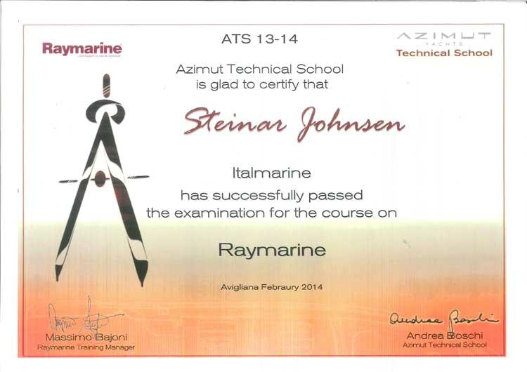 Raymarine Kurs