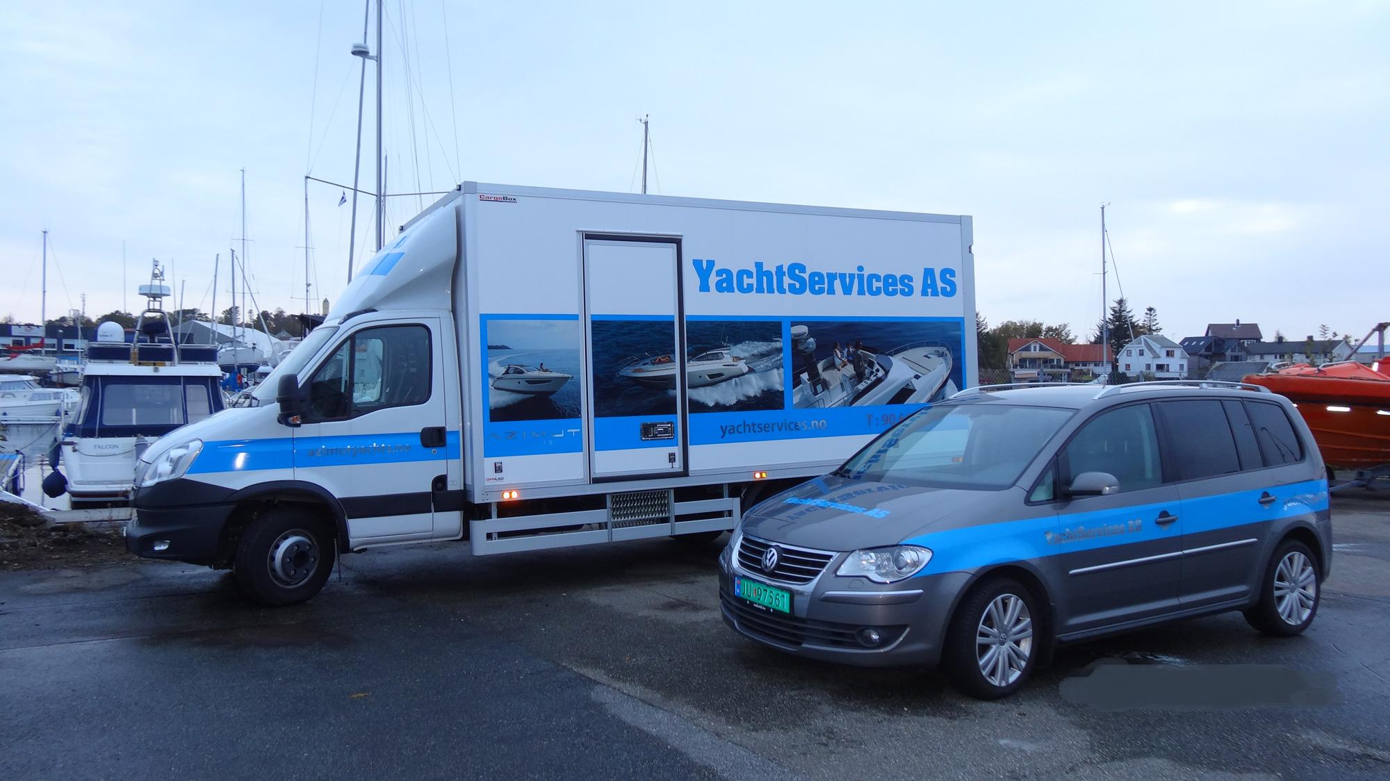 YachtServices Servicebil
